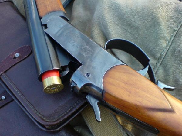 одноствольное курковое ружье