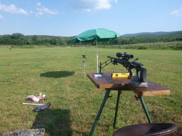 пристрелка оружия
