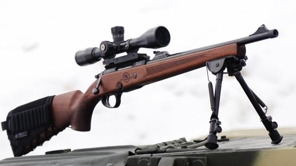 ВПО-215 Горностай. Стрельба на 200 и 300 метров // VPO-215 ...