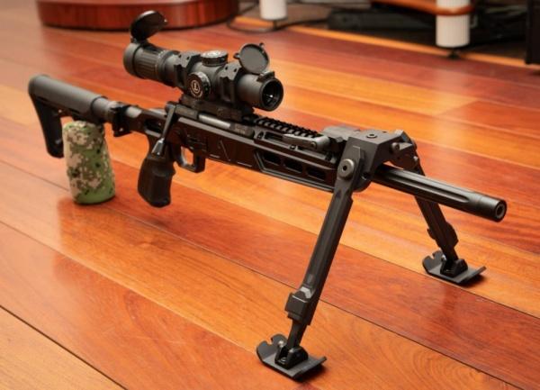 ВПО-215 Походная винтовка на базе Горностая