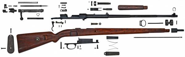 Винтовки и карабины системы Mauser 98 – Стрелковое оружие во ...