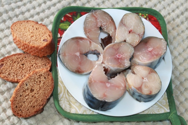 скумбрия соленая в рассоле рецепт