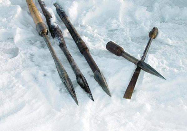 зимние рыболовные снасти