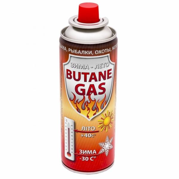 Газовый баллон цанговый 220 г., цена 36 грн., купить в Харькове ...