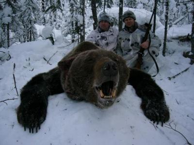 Как НЕ надо охотиться на медведя