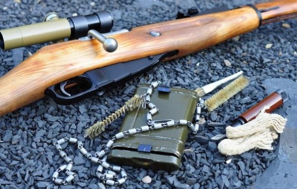 как чистить охотничье ружье