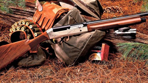 Чистить охотничье ружье
