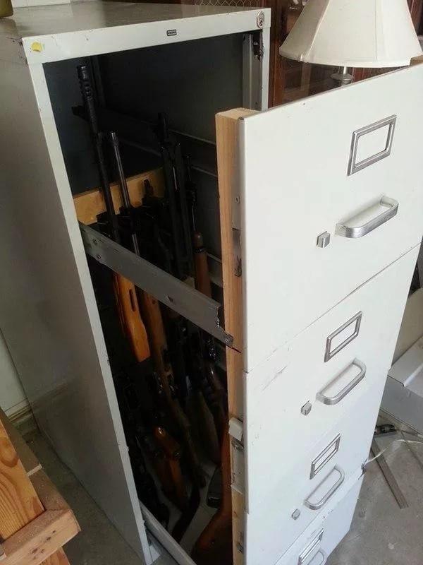 сейф для оружия своими руками