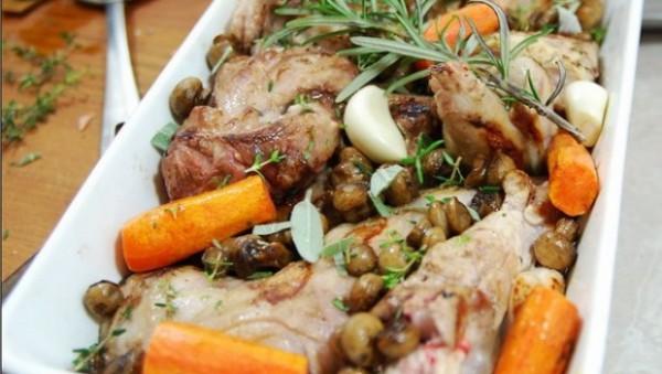 как приготовить зайца в духовке