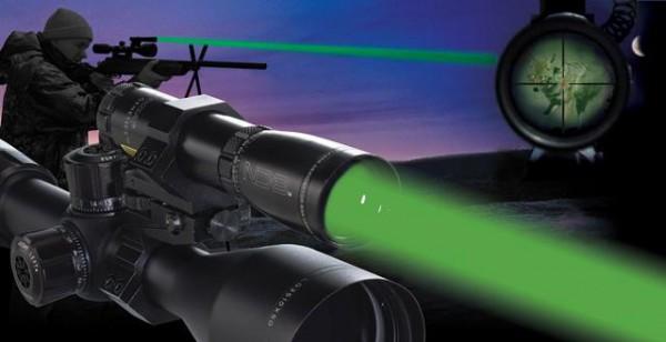 Лазерный фонарь для охоты