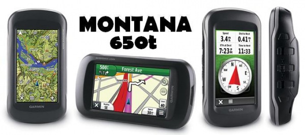 Навигаторы фирмы «Montana», модель 650T