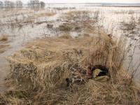 Охотничьи засидки для охоты на гуся и уток: виды и инструкции по строительству