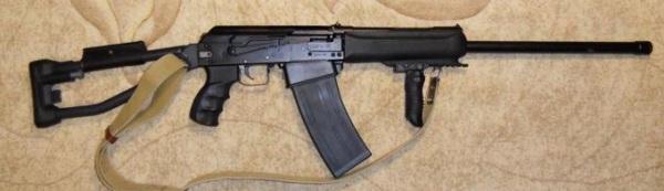 Сайга-12С с прикладом СВДС