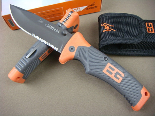 Виды складных ножей для охоты